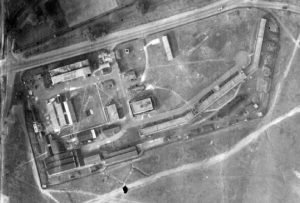 Signals Experimental Establishment in 1945, at the north-western edge of the Common