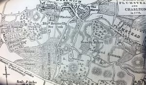 old map from 1778