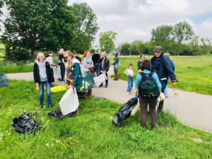 Woolwich Common Litter Pick May 2021